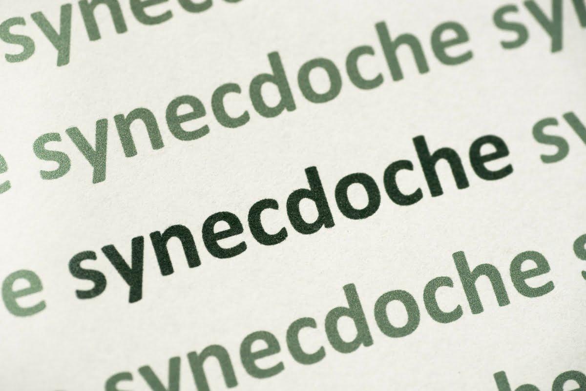 Sineddoche - definizione - significato - esempi