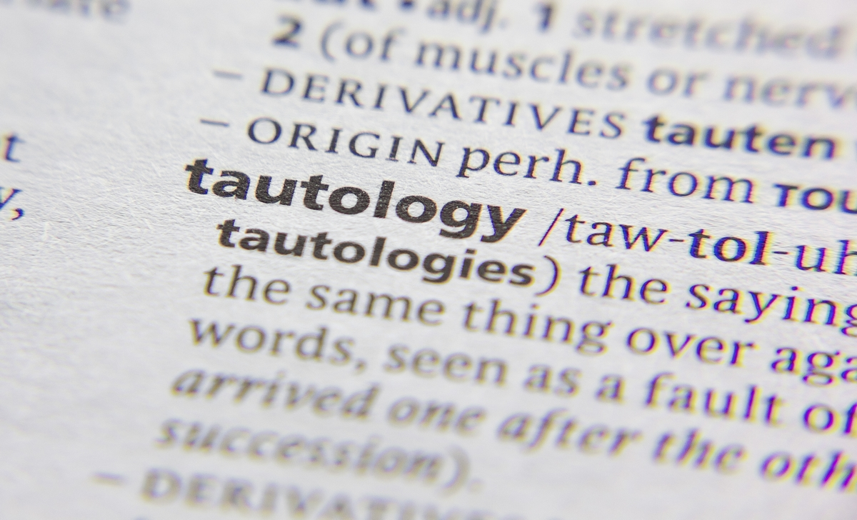 Tautologia - Significato - Definizione - Esempi