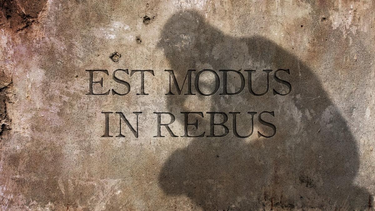 Est modus in rebus - Significato - Chi l'ha detto
