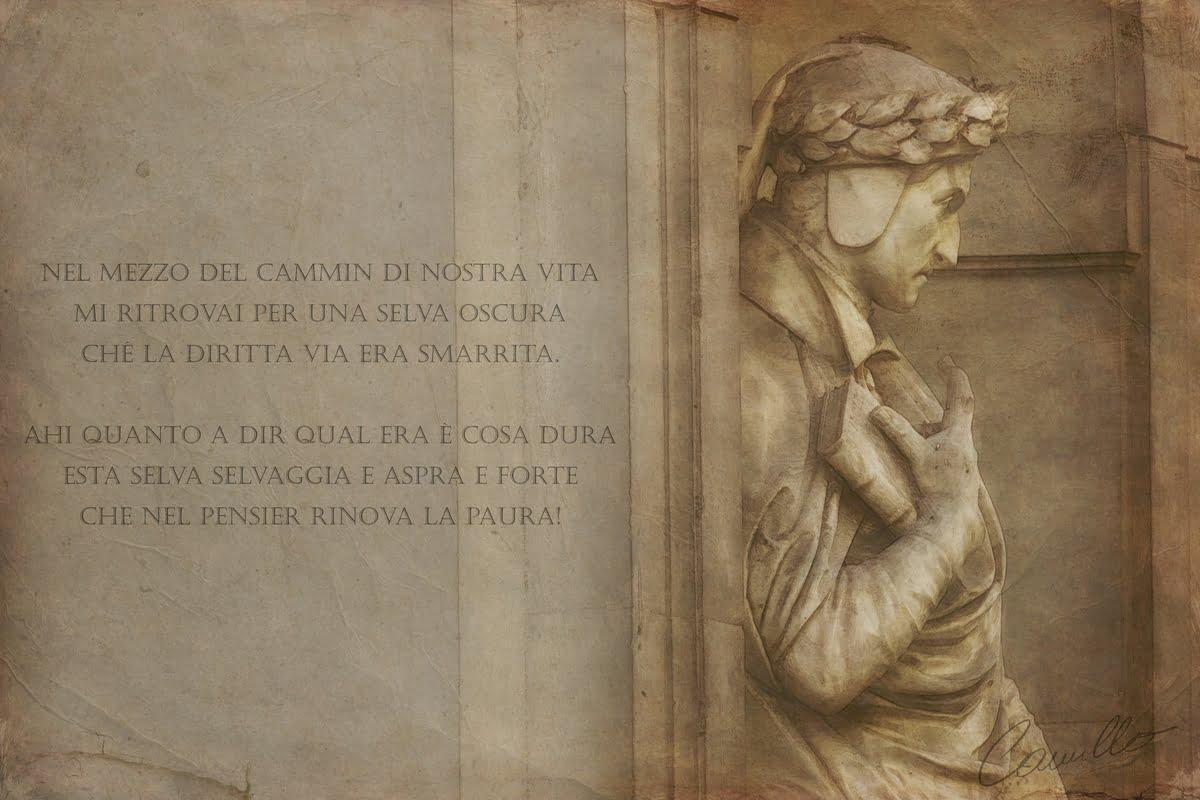 Divina Commedia - Dante Alighieri - Riassunto