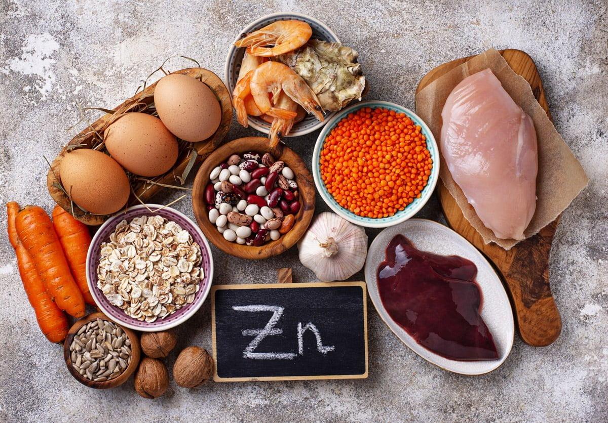 zinco - alimenti