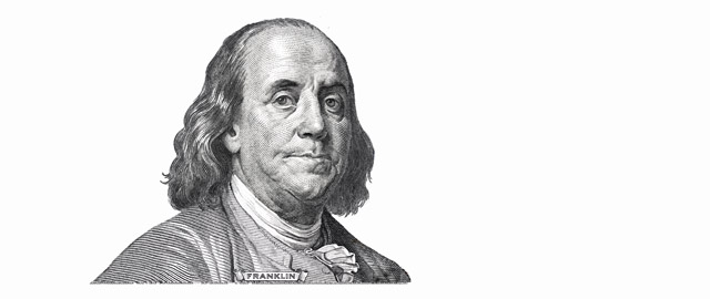 letteratura angloamericana benjamin Franklin