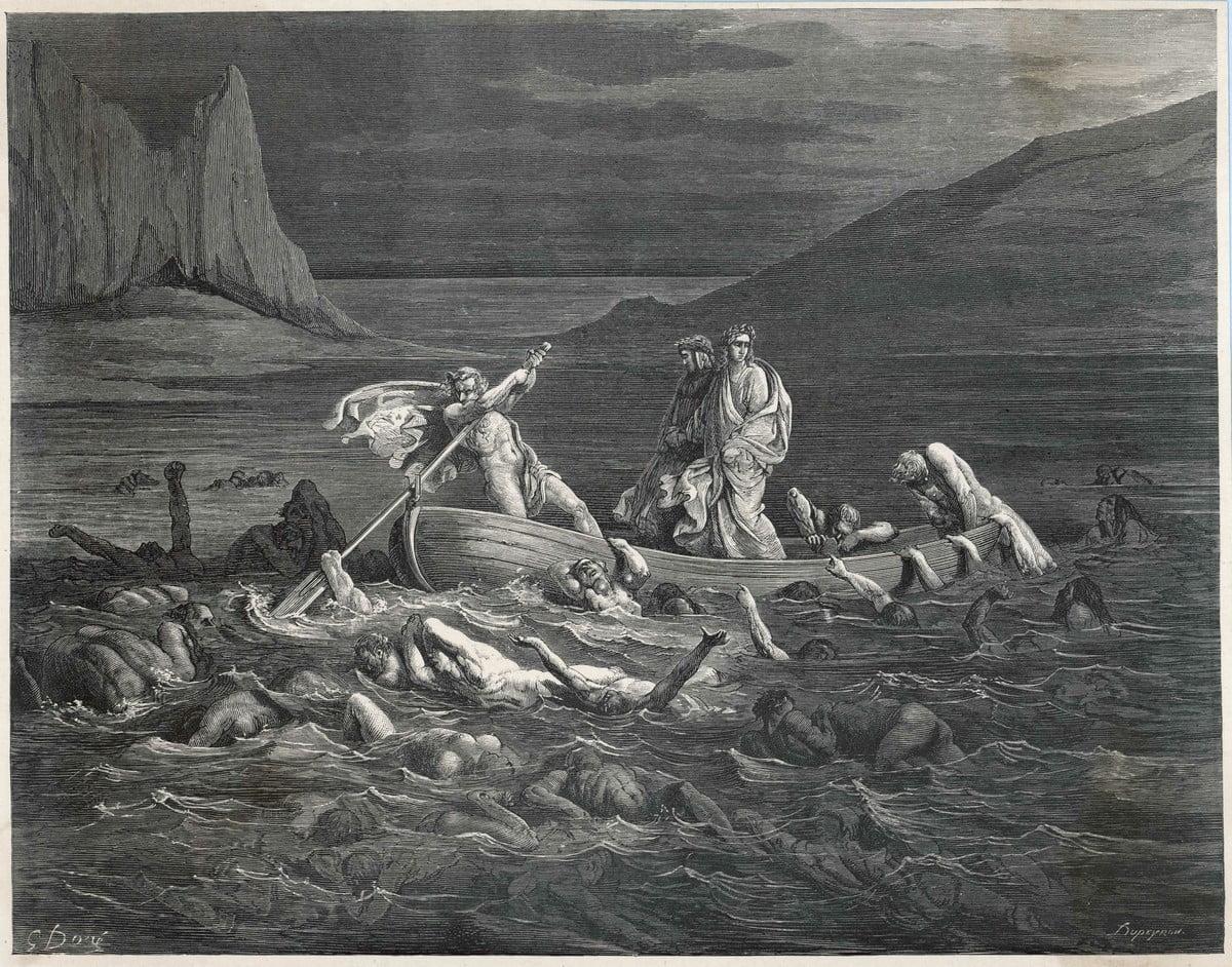 Inferno - Divina Commedia - Riassunto