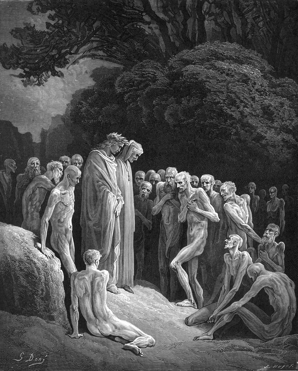 Purgatorio e Paradiso