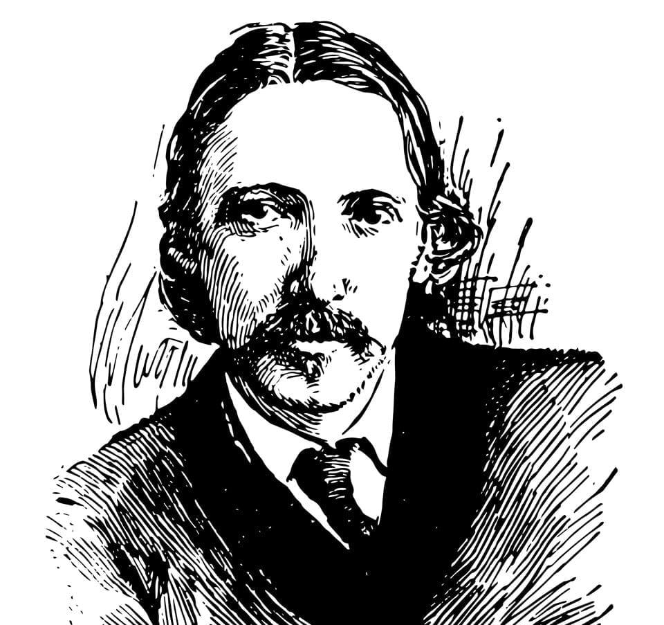 Robert Louis Stevenson età vittoriana